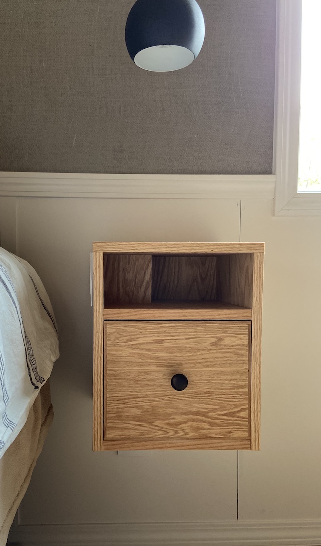 Diy Floating Nightstands With Light Switches